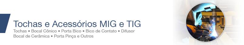 Tochas e Acessórios MIG/TIG